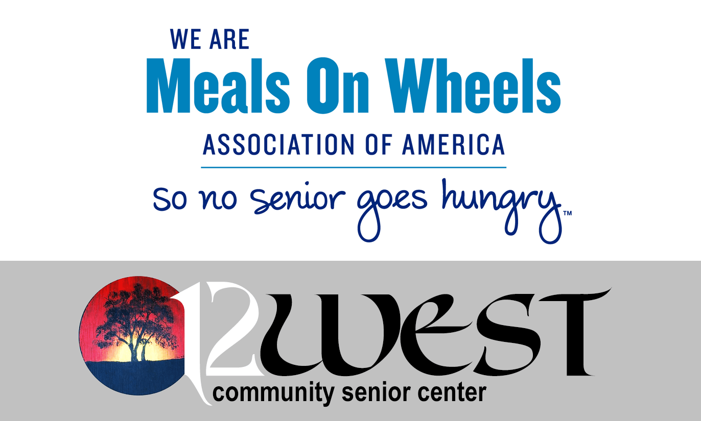 12 West Community Senior Center: Meals on Wheels Logo