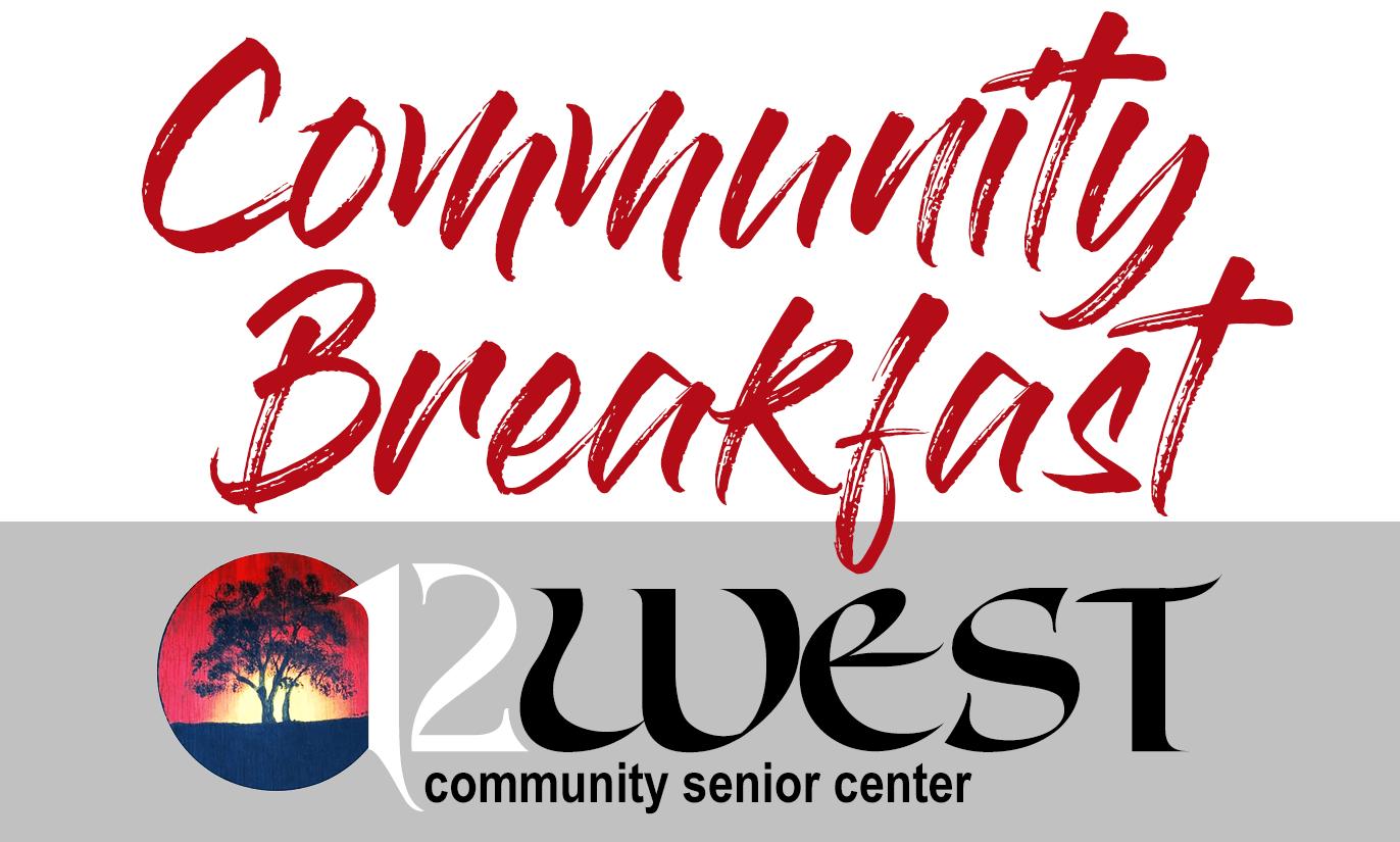 12 West Community Senior Center: Community Breakfast Badge