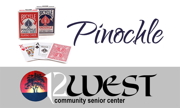 12 West Community Senior Center: Pinochle Badge