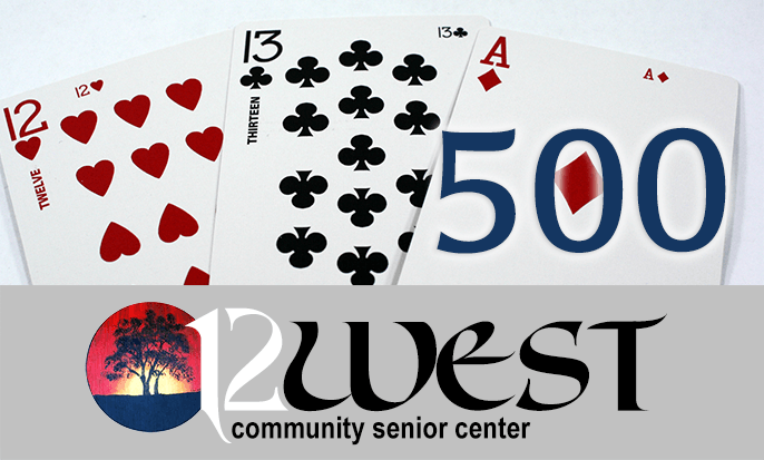 12 West Community Senior Center: 500 Badge