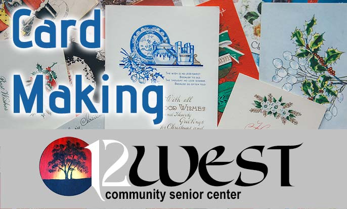 Rice Lake Senior Center: Card Making Club