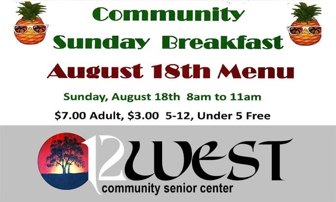 August18 Community Sunday Breakfast