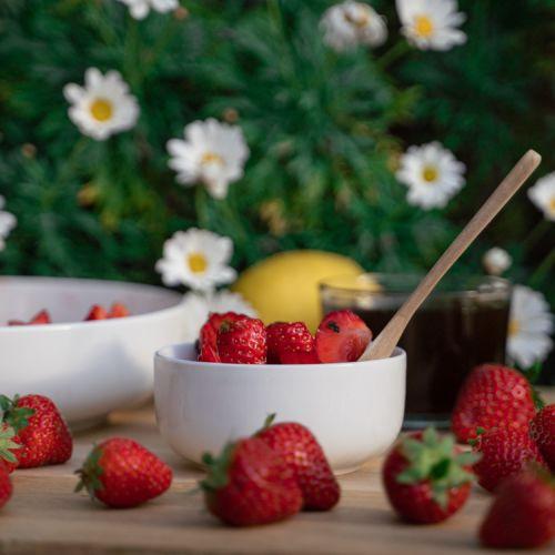 Strawberry Lemonade Dessert